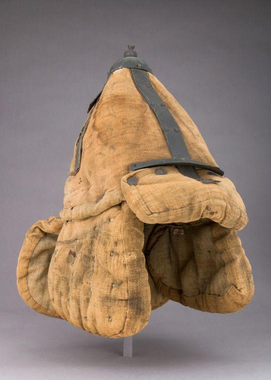 Korean Fabric Armor and Helmet with Buddhist and Taoist symbols