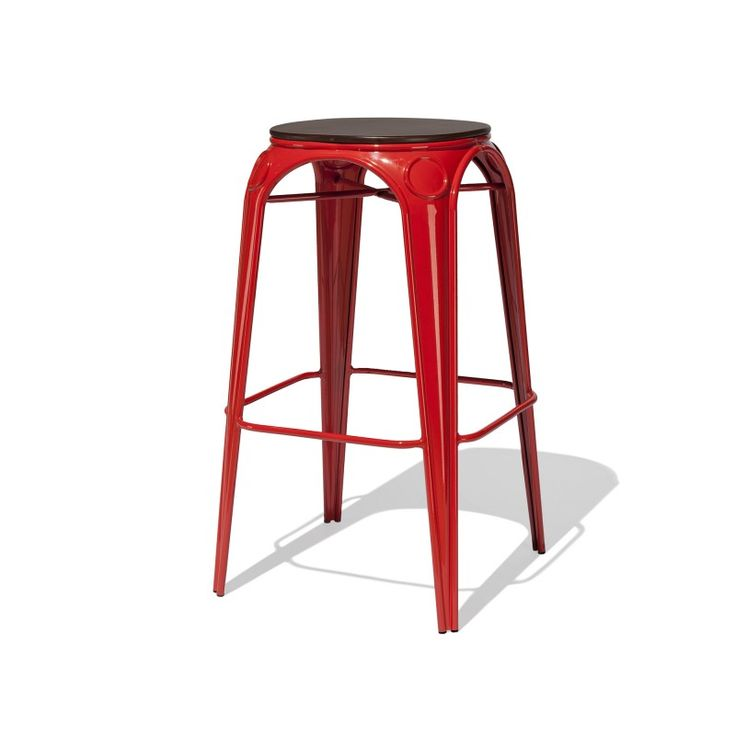 Design: Alexandre Arazola  Arc Bar Stool — The Arc collection is a new interpretation of our Bastille collection that explores industrial style with a twist of fine detail.
