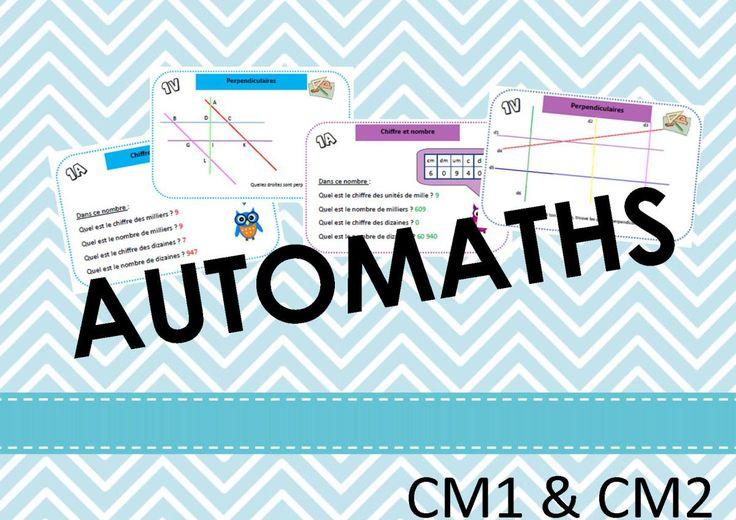 Cartes autocorrectives pour l'atelier mathématique