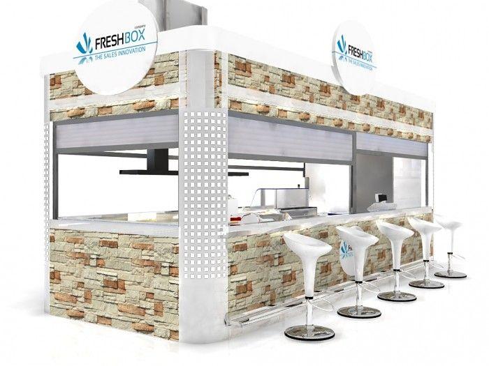 Food Kiosk Relax 4 /Kiosk Food/Outdoor Kiosk/Indoor Kiosk/Mobil Kiosk $15999