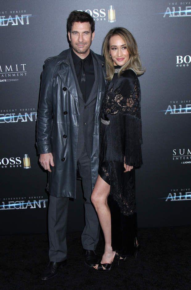 Maggie Q était accompagné de son fiancé, Dean McDermott