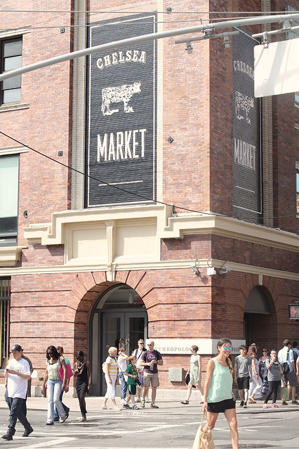 Chelsea Market // Food marketplace; M-Sat 7am-9pm Sun 8am-8pm