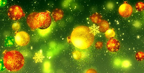 Christmas Glitters Decorations