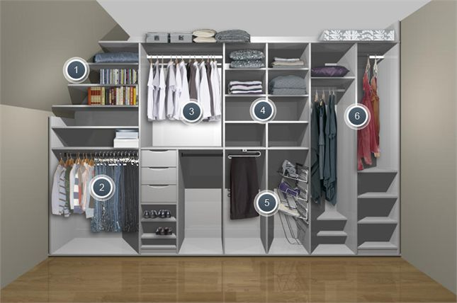 17 best ideas about angled ceilings on pinterest angled Best wardrobe storage solutions