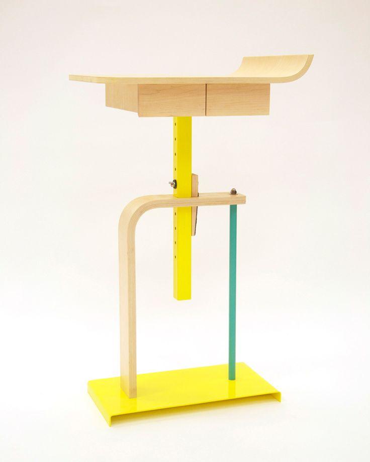 // Alex Chow   Platform Side Table