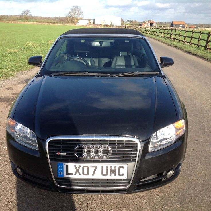 2007 Audi A4 2.0 TDI 140 S-Line Convertible in Black: £102.00 (3 Bids) End Date: Sunday Mar-18-2018 16:25:59 GMT Bid now | Add to watch list