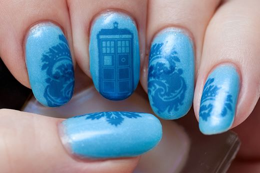 Dr Who | 10 Examples Of Geektastic NailArt