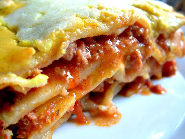 Qchenne-Inspiracje! Lasagne bolognese !