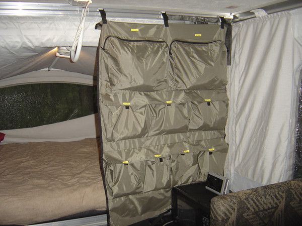 pop up camper storage ideas | What do you pack your clothes in for camping???