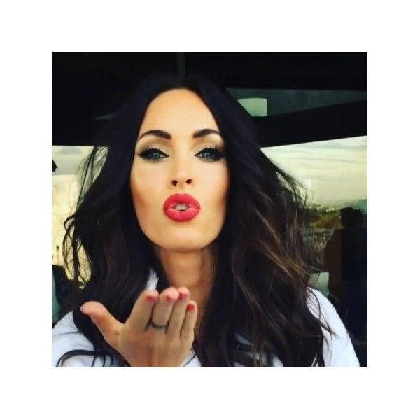 Behind the scenes - 005~13 - Megan-Fox.us | Megan Fox Fansite | Megan... ❤ liked on Polyvore featuring home, home decor and fox home decor