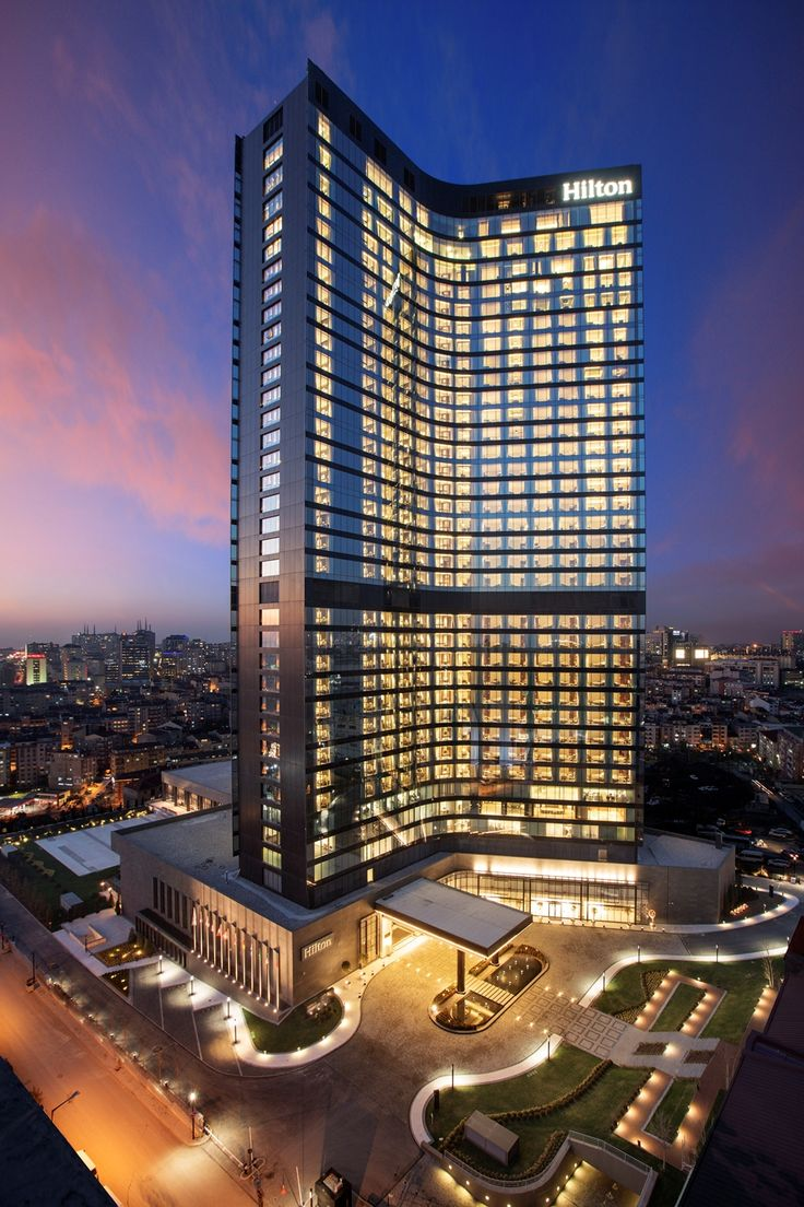 Hilton Istanbul Bomonti Hotel & Conference Center in İstanbul, Turkey