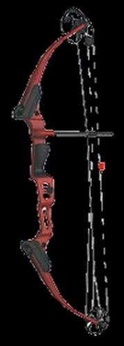 Brennan Youth - Bows 11423 16 Genesis Mini Bow Kit Red Cherry Right Hand