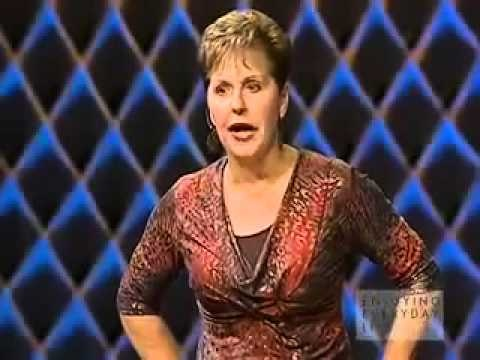 What time does Joyce Meyer come on in the TV schedule?
