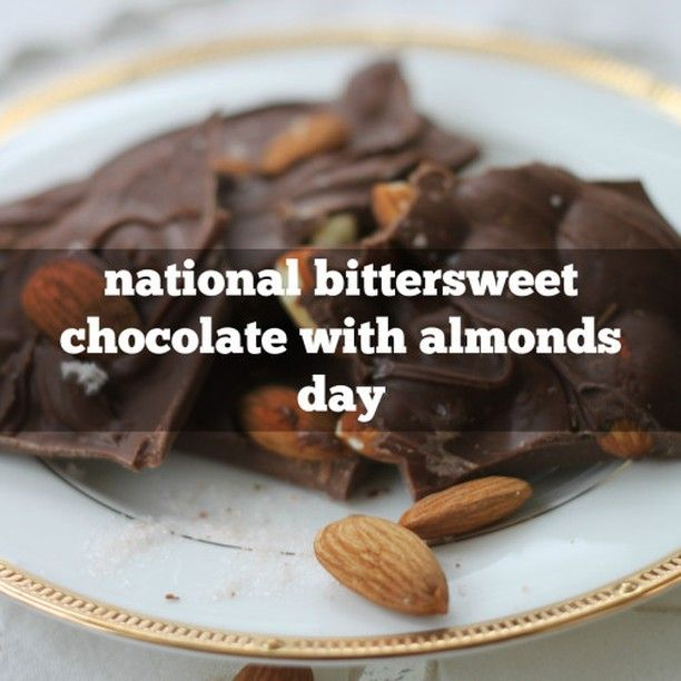 1 Oz Of Bittersweet Chocolate Contains 10 Of The Daily Recommended Intake Of Iron Sflr Bitter Bittersweet Chocolate Chocolate Manufacturers Almond