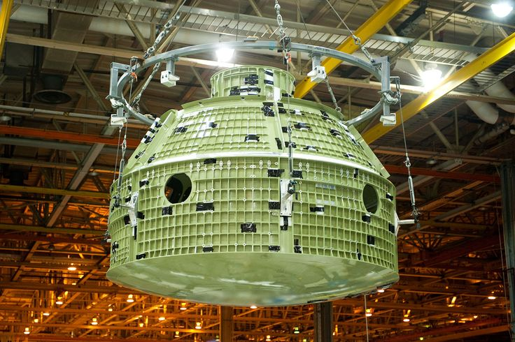 Final wield of first space bound Orion - Orion (véhicule spatial) — Wikipédia