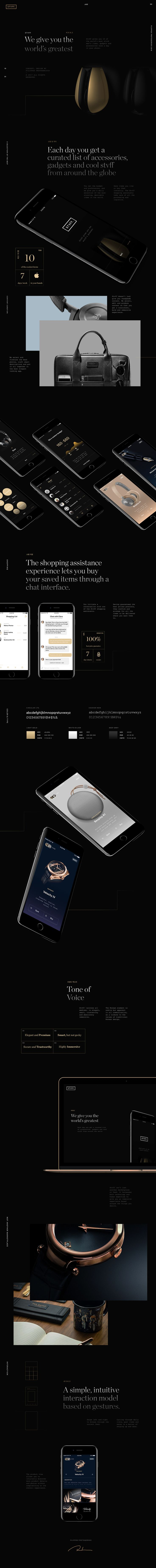 Stvff - We give you the World's Greatest on Behance