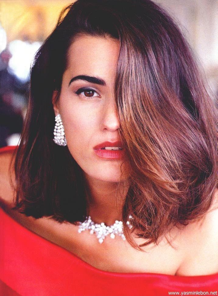 ☆ Yasmin Le Bon: Vogue, Germany. Dec. 1990