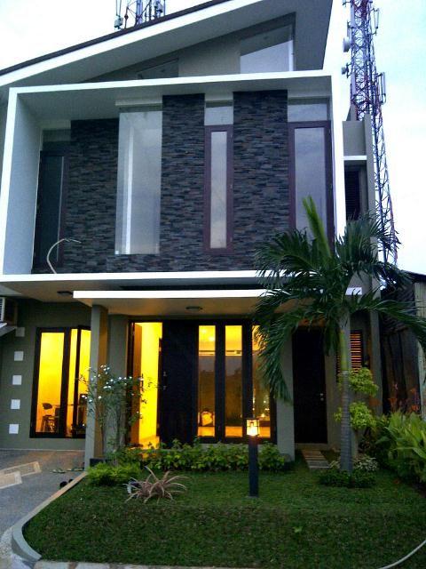 Modern Minimalist Design House Terraced