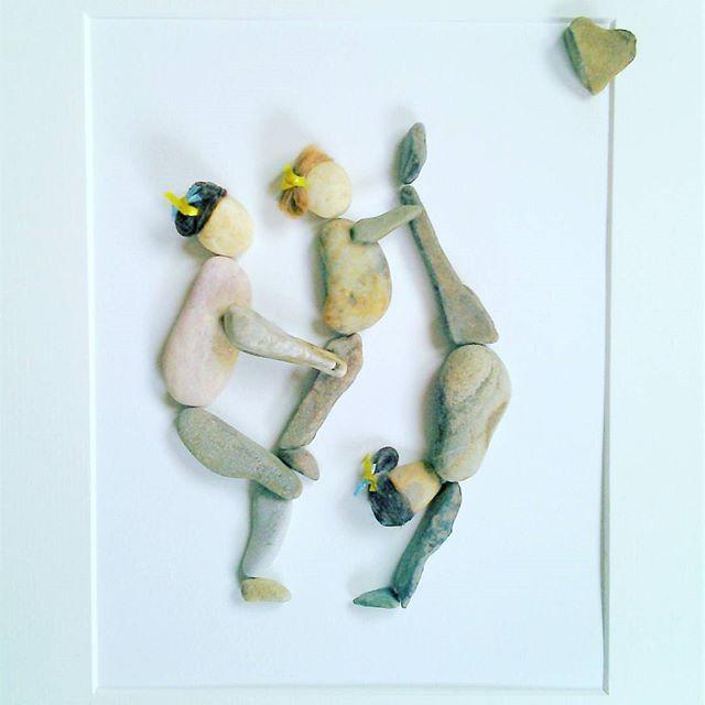C.O.S. if you dream it you can be it... #art #crafts #unique #handmade #pebbleart #gymnastics #giftideas #sports #fitness #fitnessmotivation