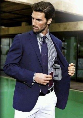 25 best ideas about blazers bleu marine sur pinterest tenues de blazer bleu marine veste. Black Bedroom Furniture Sets. Home Design Ideas
