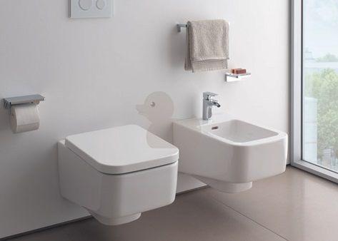 Závěsné WC Laufen Pro S, zadní odpad, 53cm