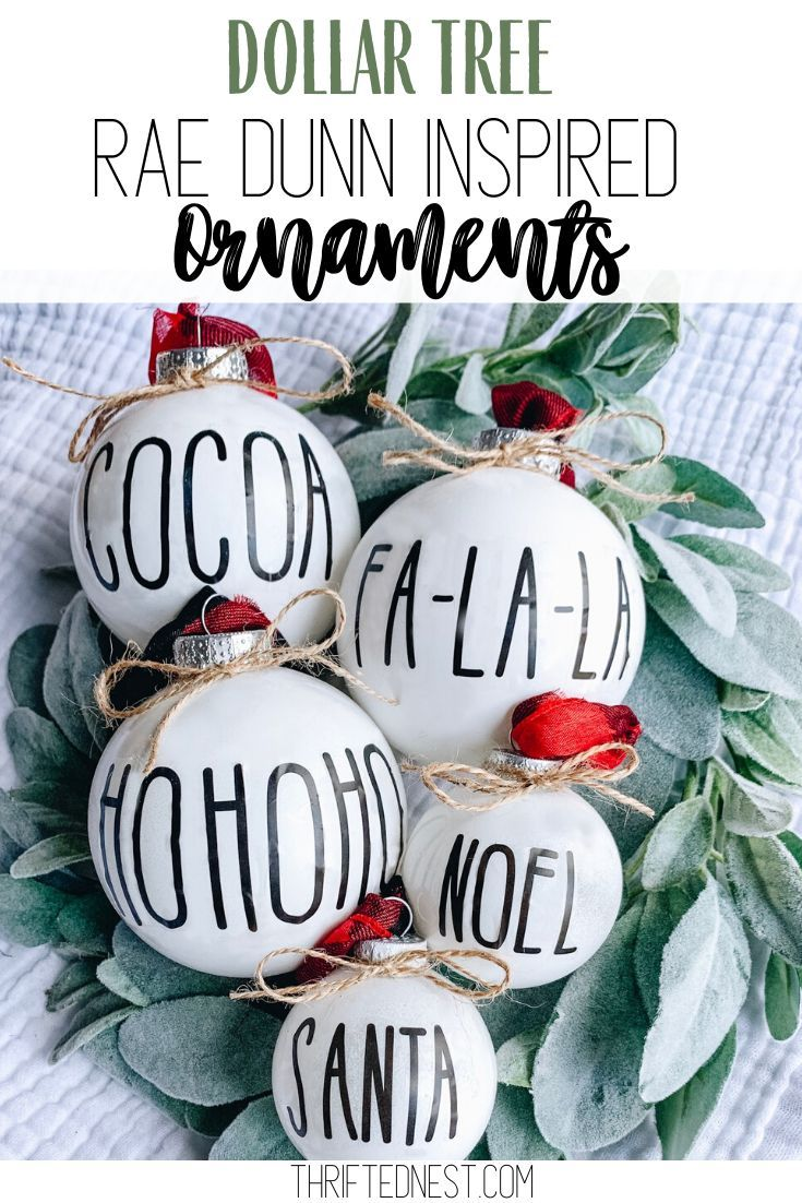 Diy Dollar Tree Christmas Ornaments Thrifted Nest In 2020 Dollar Tree Christmas Homemade Christmas Tree Christmas Ornaments
