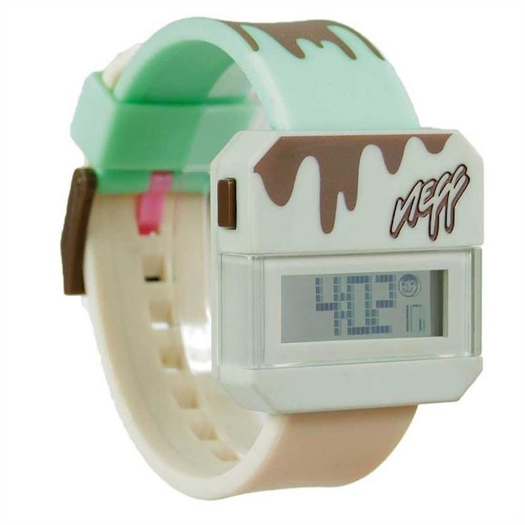 NEFF ICE CREAM DIGITAL WATCH    £39.95     Buy Here: http://www.blacksheepstore.co.uk/neff-ice-cream-digital-watch.html