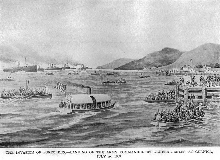 U.S. invasion of Puerto Rico July 25, 1898 Mi abuelo Marshal Samuel Bothwell llegó a la isla en esta año.
