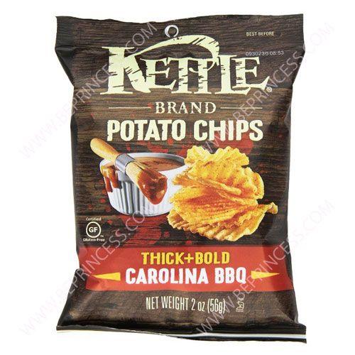 Chips, Kettle Brand Carolina Thick & Bold BBQ 2 oz