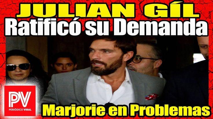 HOY | Julián Gil denuncia por la vía penal a Marjorie de Sousa | Julian ...