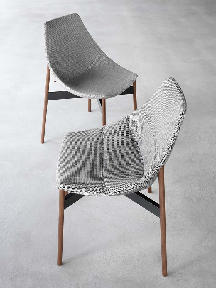 Contemporary style upholstered wooden chair with removable cover GAMMA | Wooden chair - @pianca_design