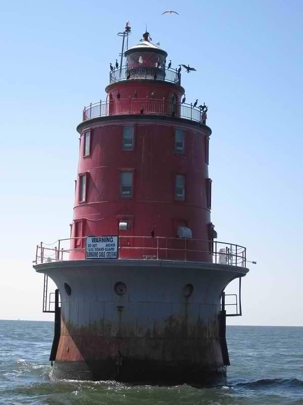 Abandoned Miah Maull Lighthouse Downe Township New