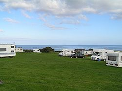 Treloan, near Portscathco  Looks lovely, right near to the beach and good walks, animals for children to feed, playing field but no play park
