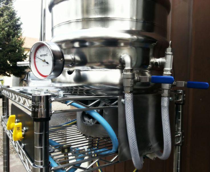 Homebrew - Fornello, ricircolo del mio micro impianto