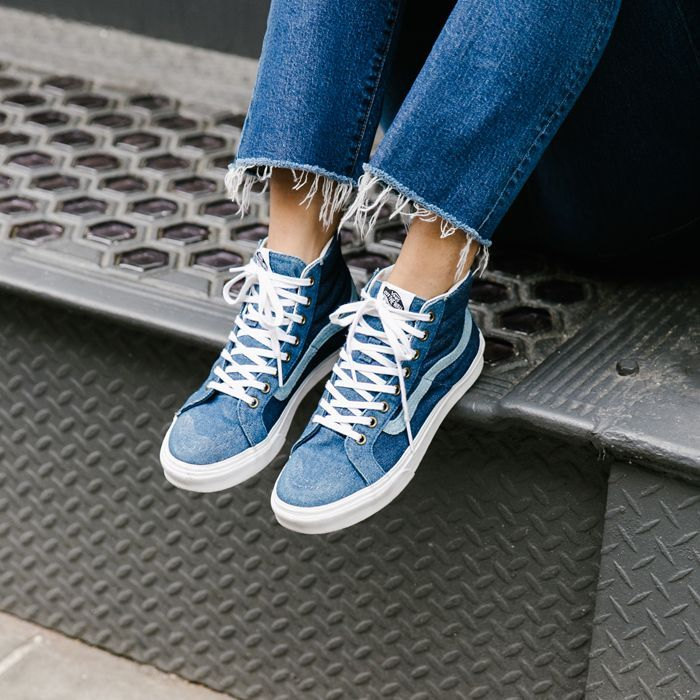 52e4c69ea1 Buy blue vans pinterest