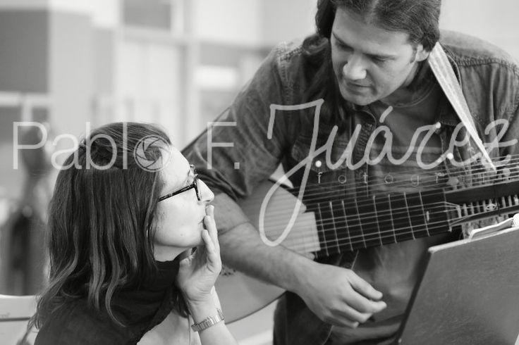 Elena González (clave) y Manuel Minguillón (cuerdas pulsadas históricas)