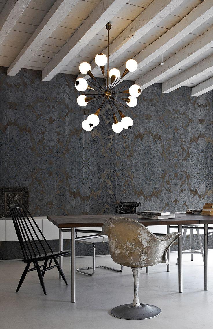 damasked concrete | Gaia | Collezioni | Inkiostro Bianco