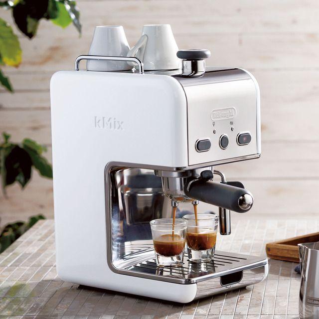 スターバックス コーヒー ジャパンのデロンギ kMixエスプレッソ・カプチーノメーカー ES020J-WHについてご紹介します。