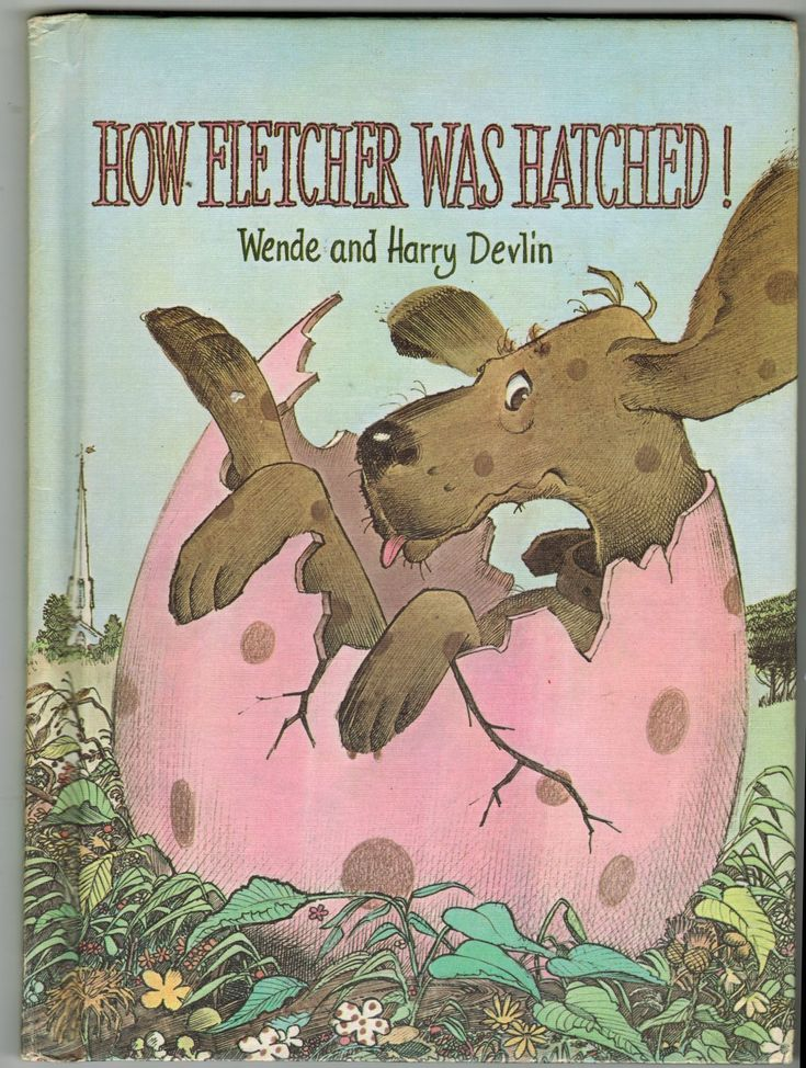 1969 Parents Magazine How Fletcher Was Hatched Wende Harry Devlin HC 1st Ed Book