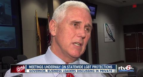 Indiana Governor, Jacksonville Mayor To Reveal Positions on LGBT Civil Rights Measures
