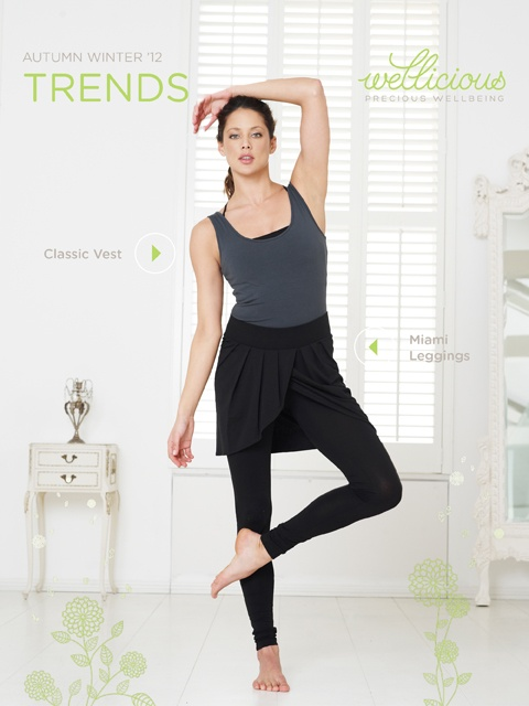 Enjoy the New Season, check out our Weekly Trend!     Classic Vest > http://www.wellicious.com/gbren/wellicious-classic-vest.html  Miami Leggings > http://www.wellicious.com/gbren/wellicious-miami-leggings.html