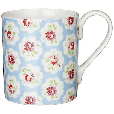 Cath Kidston Provence Rose Larch Mug , Blue