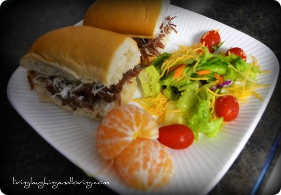 Crock-Pot French Dip Subs. These are incredible.