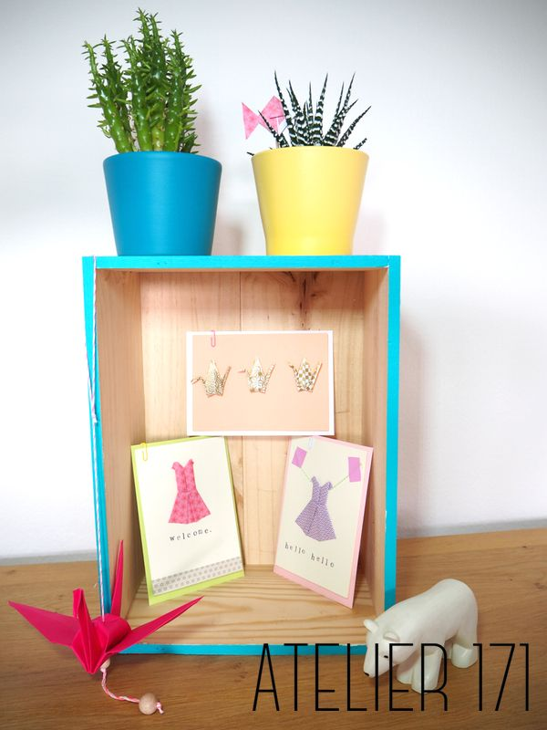 Greetings cards - origami paper atelier171.com