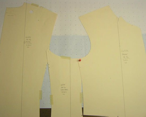 good article on armhole shaping when drafting/altering a pattern.