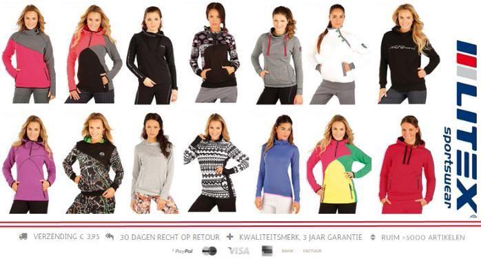 Nog niet toe aan een jas? Draag een sweater! http://www.litex-shop.nl/dames/sportkleding/truien/… #sportkleding #damestruien #LitexSportswear