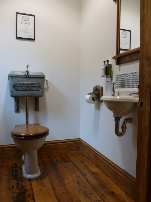Probably Wise To Choose A Tank That S Not So High That You Can T Reach Victorian Bathroom Sinksvictorian Toiletvintage Bathroomssmall