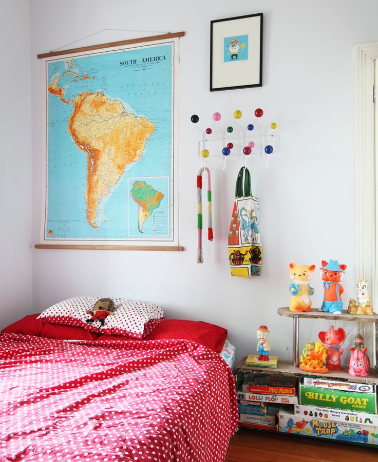 Little boy's room decor - featured in issue 5 of 91 Magazine