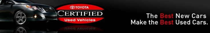 Toyota Certified Used Cars at Toyota of Orlando!    http://www.toyotaoforlando.com/toyota-certified-used-vehicles.htm