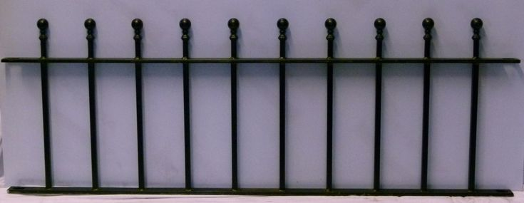 A lovely traditional yet understated ball top design with square vertical bars. Comes in a matte black painted finish as standard. Also available with hot dip galvanized and/or powder coated finishes at extra cost, please select your preferred finishes prior to checkout. This product matches our Chiswick Double Gates and our Chiswick Single Gate. All …